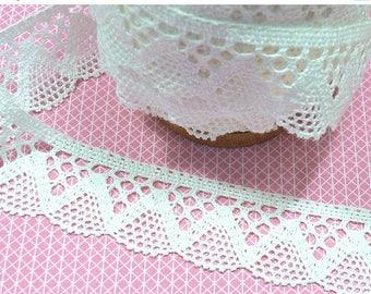 Summer Sale Lace white 4, 2 cm 1 m BW