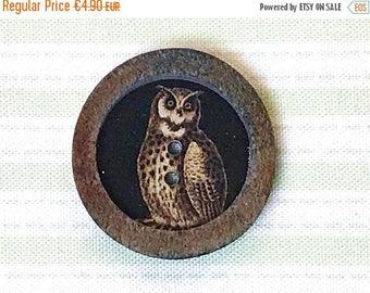 Summer Sale JIM button Horn button OWL