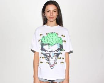 1989 The Joker DC Comics Batman T Shirt