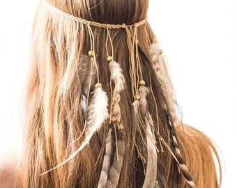 Festival Feather Headpiece