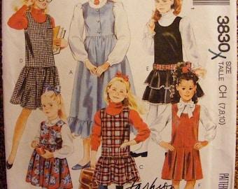 41% OFF Uncut McCall's SewingPattern 3830 Girls' Jumper Size 7 8 10