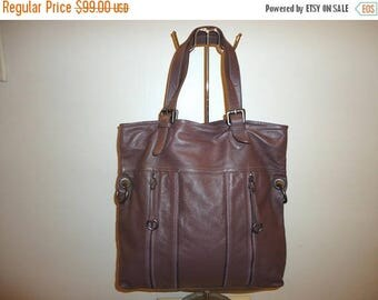 The Sale Is On Sale Must See Beautiful Vintage Leather Shoulder Bag
