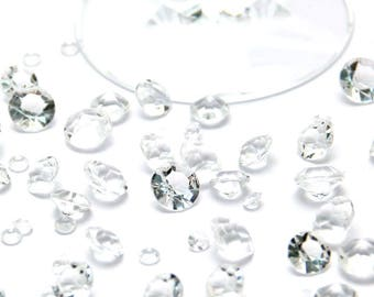 Small diamonds table decoration 6 mm crystals