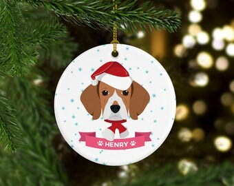 Beagle ornaments  Etsy