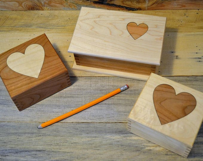 Heart Boxes, the perfect keepsake for those special Valentine's gifts!