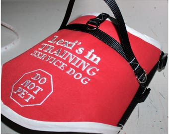 Dog Service Vests - Custom Made to Measurements