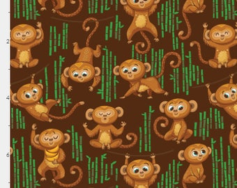 Monkeys | Minky |  Menstrual, postpartum, incontinence Pads, Pampered Shop