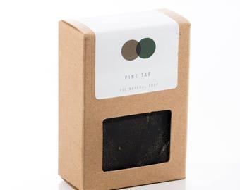 Pine Tar Soap - All Natural, Vegan
