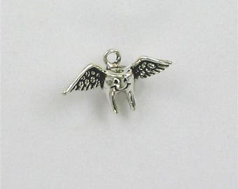 Sterling Silver 3-D Tooth Fairy Charm