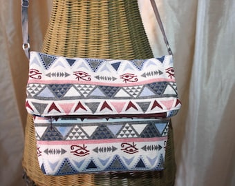 Ethnic, Mexican flap pocket. Modern and practical