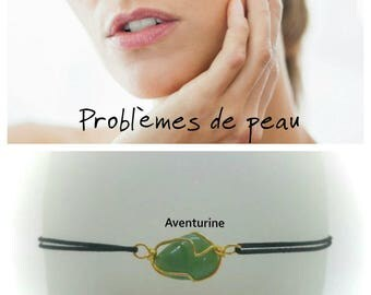 """Skin problems"" Bracelet: Aventurine"