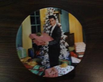 Christmas at Graceland. Elvis Presley Delphi Plate #10
