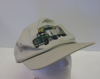 90s ABF Trucker truck hat cap dad hat road travel driving snapback