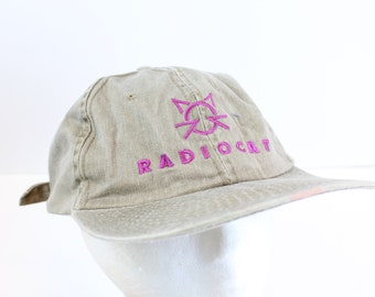 Radiocat Hat leather strap minimal