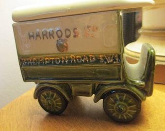 Harrolds of London Ceramic Truck