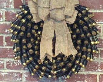 Army/ Las Vegas Golden Knights Shotgun Wreath