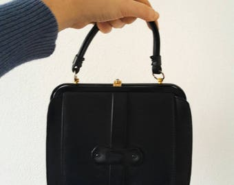 Vintage bag years ' 70 black