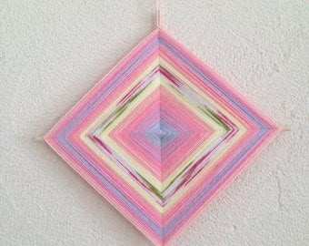 Ojo de Dios mandala for child's room decor