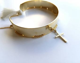 Gold plated Bangle Madonna