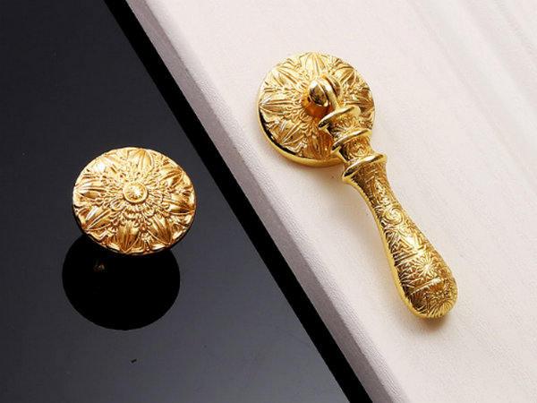 Gold Knob Door Pull Dresser Knobs Drawer Pulls Handles Rustic