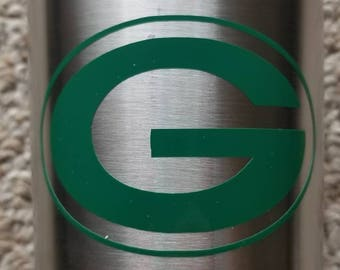 "Green Bay Packer ""G"" - Vinyl Decal"