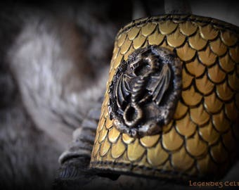 Viserion leather bracelet