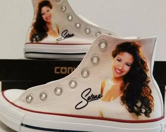 Selena Custom Converse All Stars