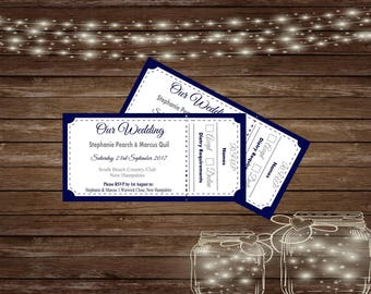 Printed Wedding Invitations/Printed Wedding Ticket/Wedding RSVP Cards/Wedding Save the Date/Save the date cards/Wedding Invitation & RSVP