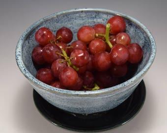 Ceramic Berry Bowl | Miniature Colander | Ceramic Colander | Pottery Colander | Unique Gift | Small Colander | Blue Colander | Berry Bowl