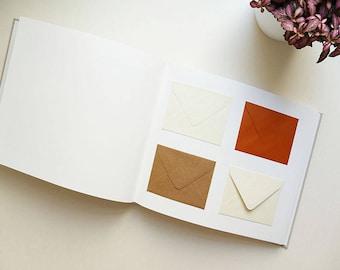 Wedding guest book / / envelopes