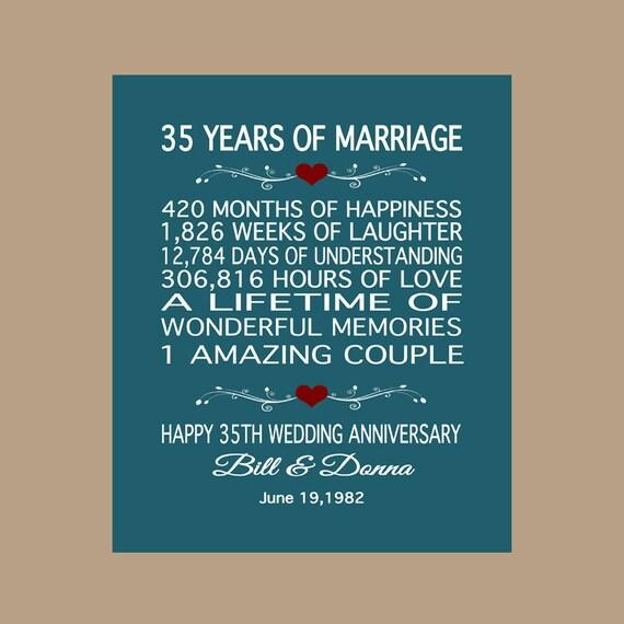 35th anniversary gift 1982 anniversary gift 35 years anniversary 35 wedding anniversary