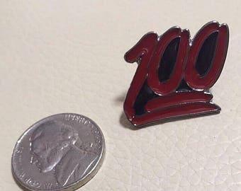 Keep It 100 Enamel Pin