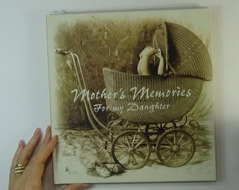 Mother's Memories Book/Journal - Future Altered Book for Mixed Media