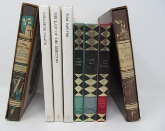 Children's Vintage Book Lot - 8 Hardback Books Included!