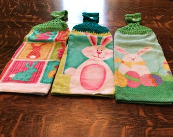Crochet Kitchen Towel Set of 3