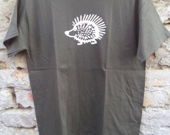 Olive green short sleeve T-shirt
