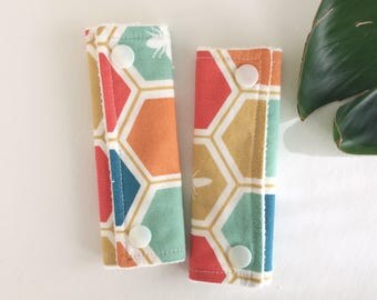 ORGANIC Car Seat or Stroller Strap Covers | Ready to Ship