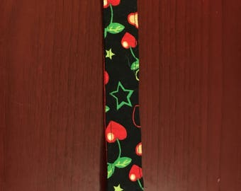 Pacifier clips with cherries