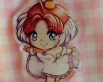 Princess Tutu badge or magnet