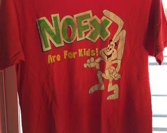 Vintage 90s NOFX shirt