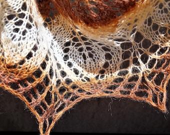 Hand Knitted Mohair Shawl, Party Shawl ,Winter Scarf ,Wool Shawl ,Wedding Shawl ,Women Accessories, Handmade Shawl,Knitted Scarf