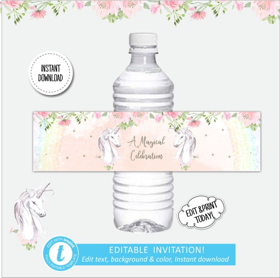 Birthday Labels Template Urgup Kapook Co