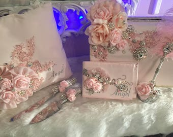 Quinceniera custom blush package