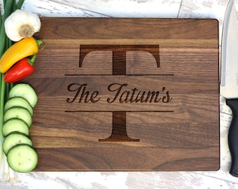 Personalized Cutting Board - Engraved Cutting Board - Housewarming Gift - Christmas Gift
