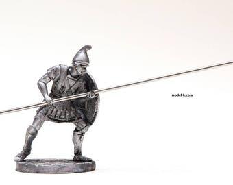 Greece tin 54mm Macedonian infantryman Ancient Greek Miniature