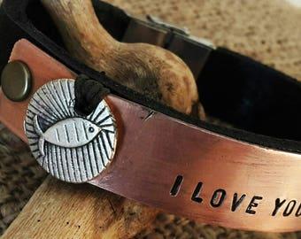 Christian Fish, Custom Bracelet,Personalized Bracelet,Christian Bracelet, Confirmation Bracelet, First Communion Bracelet, Baptism bracelet.