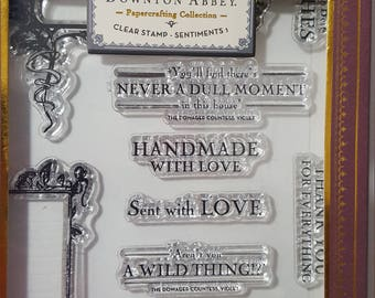 Downton Abbey Clear Stamp set: Elements