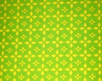 Yellow Petals on green background