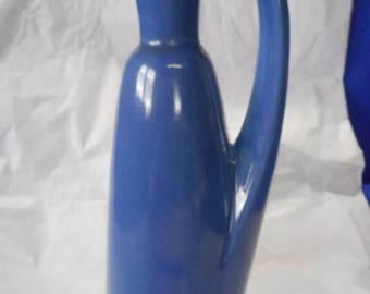 UHL 12 Oz Egyptian #133 Jug, Variations in Blue Glaze, 133 Marked on Base.  Super Nice Condition.