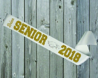 WHITE SASH Senior Eagle